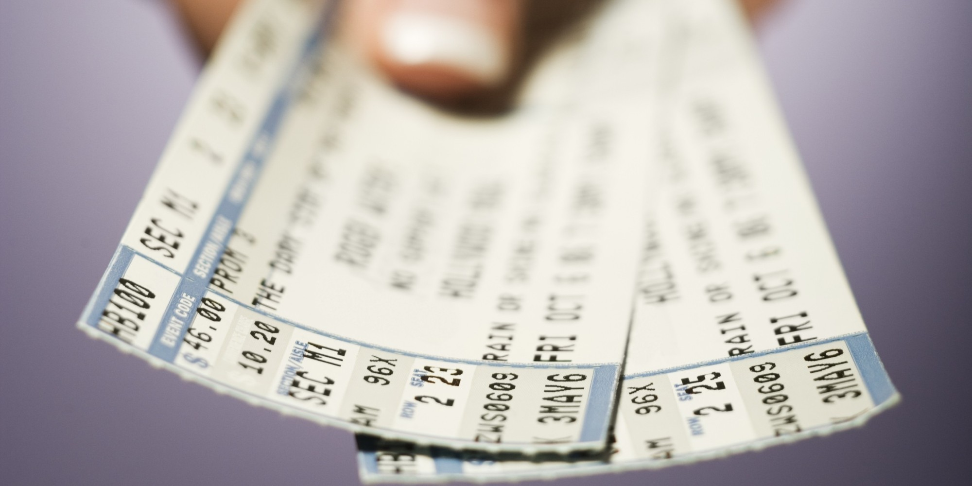 Ticket scams
