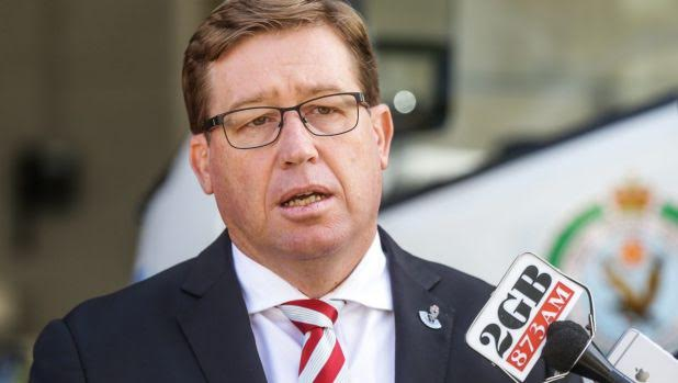 Troy Grant On South-West Sydney Crime
