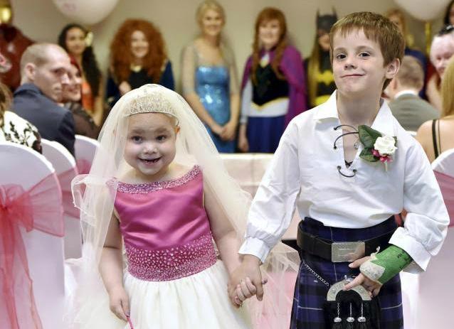 Wedding For Terminally Ill Child