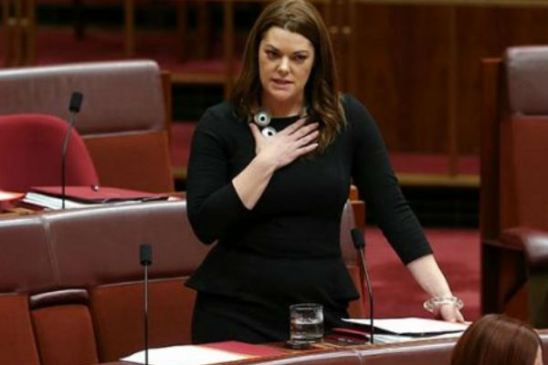Image result for Sarah Hanson-Young