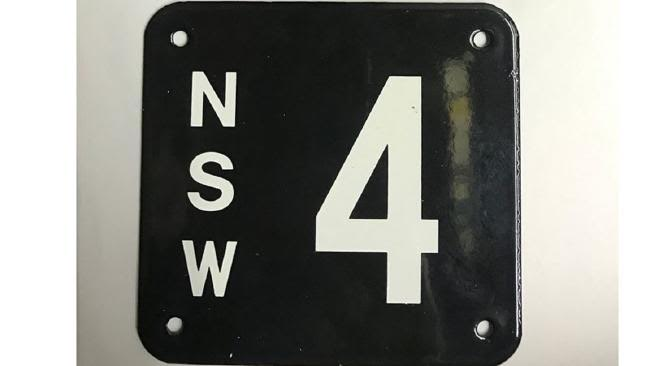 $2.4 Million For A Number Plate