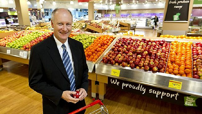 Coles profit down down for the first time in 10 years