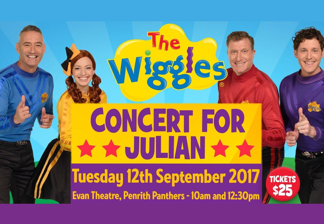 Wiggles Concert For Julian Cadman