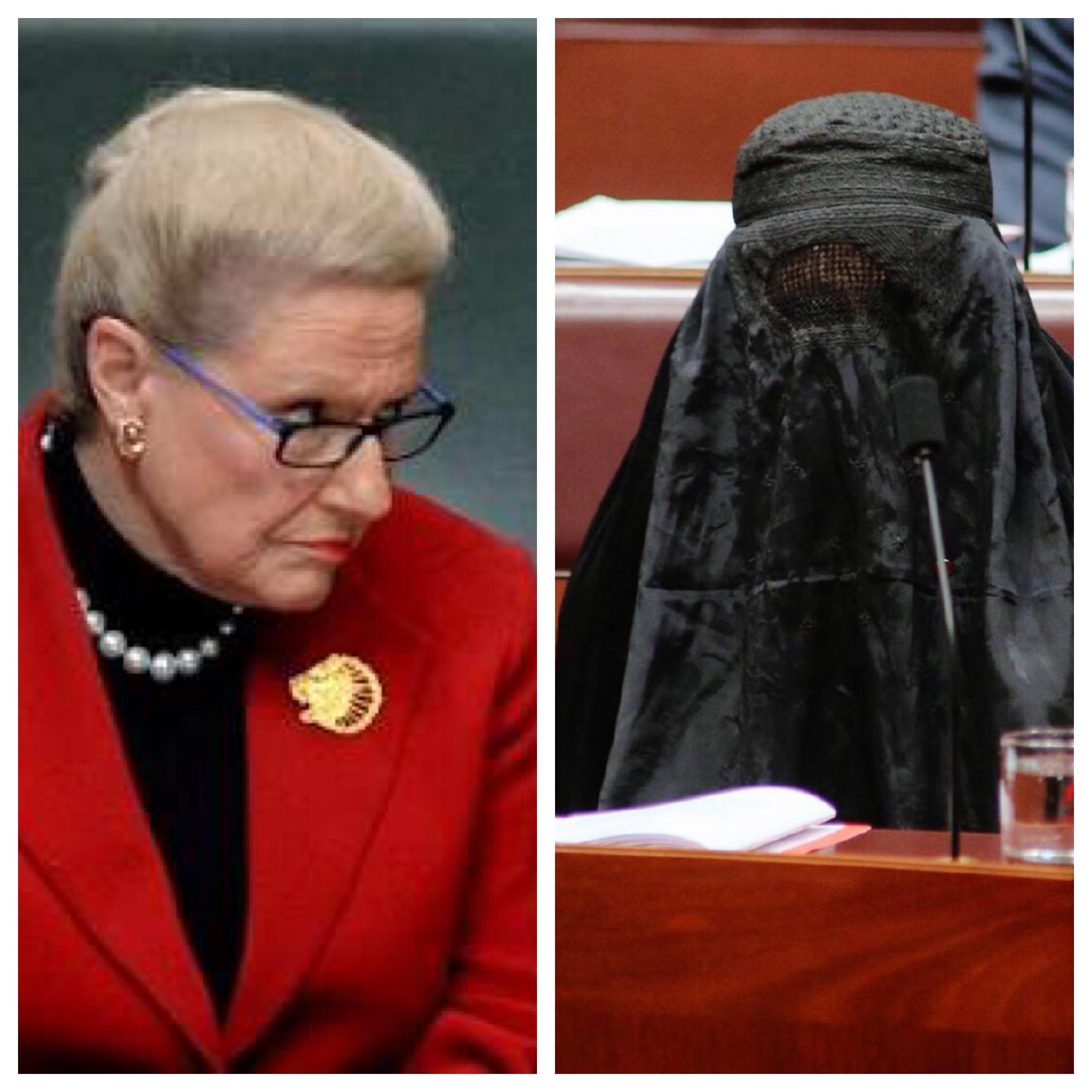 Bronwyn Bishop Supports Pauline Hanson