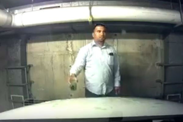 Article image for Vehicle vandal caught on camera