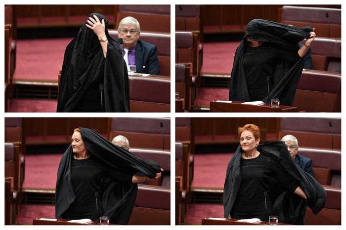 EXCLUSIVE: Pauline Hanson Speaks About Burqa Stunt