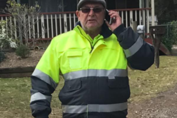 Arcadia dump site's standover man