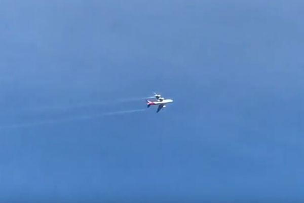 WATCH: Plane in Trouble