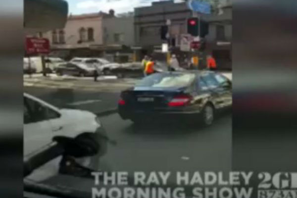 Article image for Yet another road rage incident