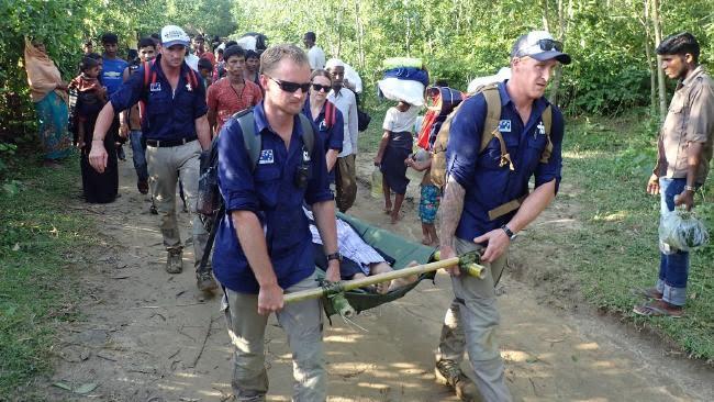 Aussies Helping Rohingya Refugees