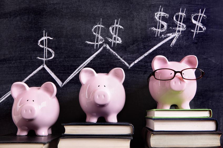 University advertising expenditure