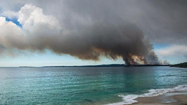 Jervis Bay Bushfire