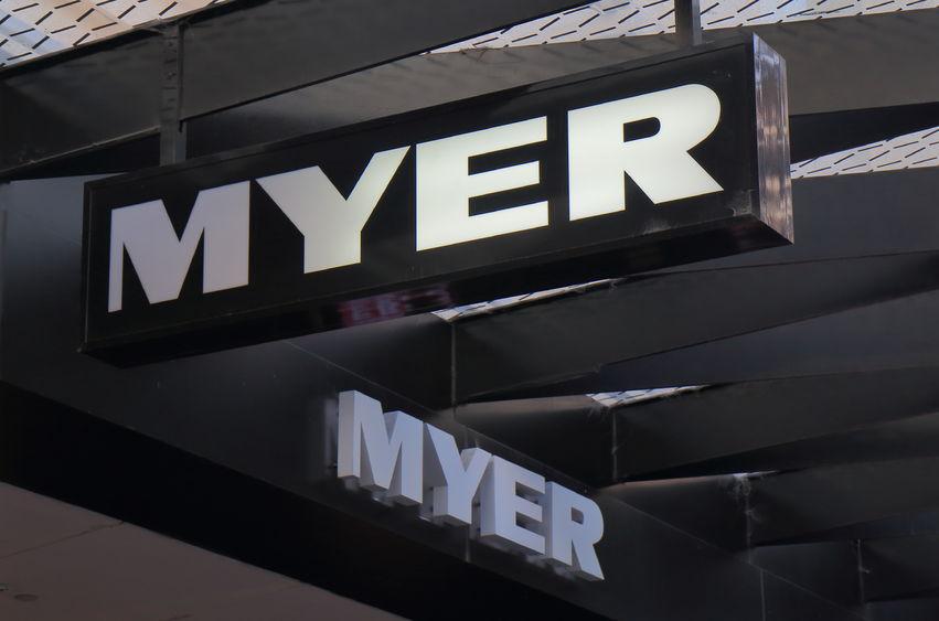 Myer profits plunge