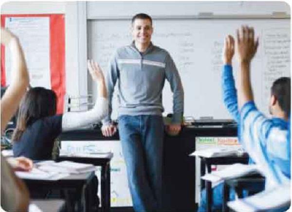 Decline in male teachers