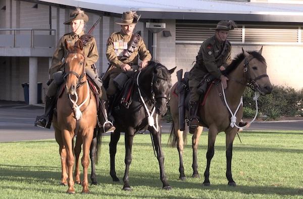 Light horse memorial Menangle Park 1