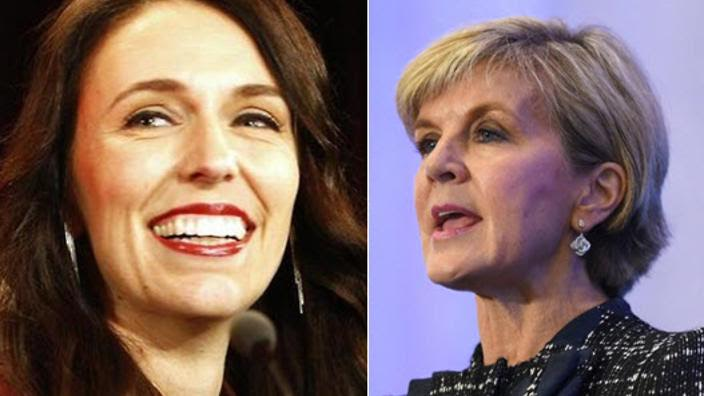 Julie Bishop Vs NZ Labour