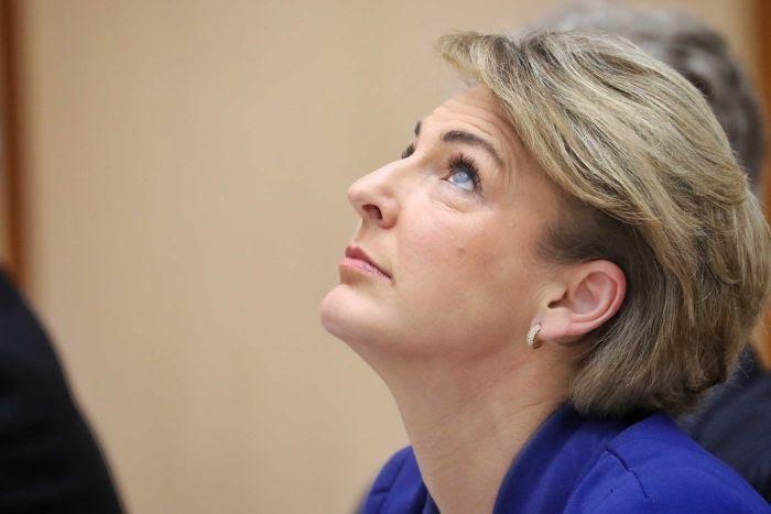 Parliament Chaos Over Michaelia Cash