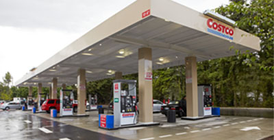 Petrol stations jack up prices when Costco closes