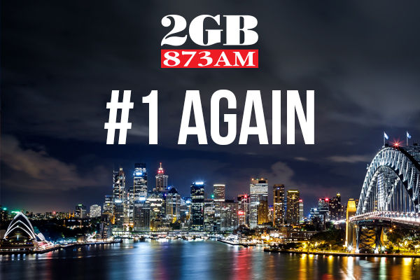 2GB takes top spot in the radio ratings