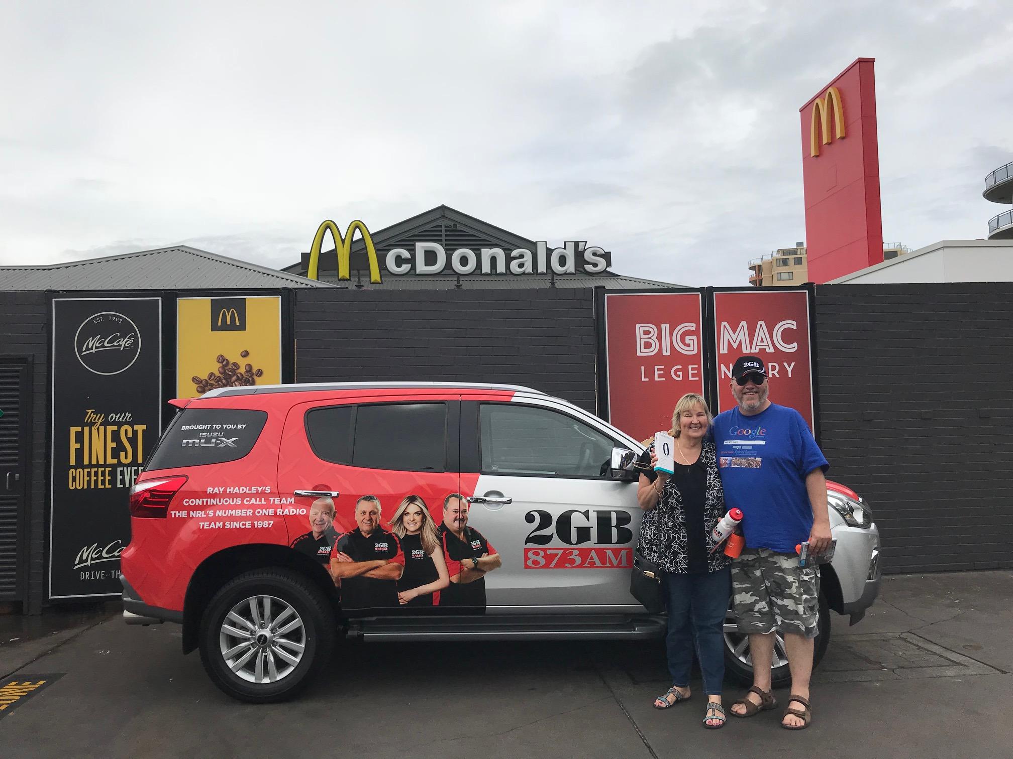 Saturday Fan Day- McDonald's Rockdale