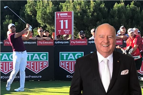 Jason Day talks to Alan Jones ahead of the Australian Open golf
