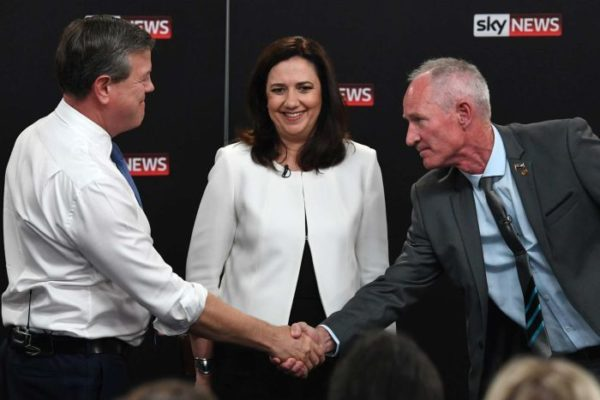 Article image for One Nation leader claims he was offered bribe ahead of QLD election