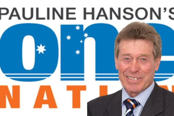 """Dinky di"" Australian running for One Nation against the big end of town"