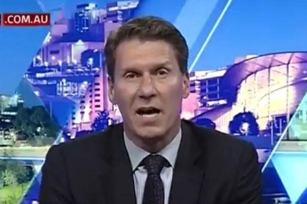 Article image for WATCH: Cory Bernardi sprays Christopher Pyne