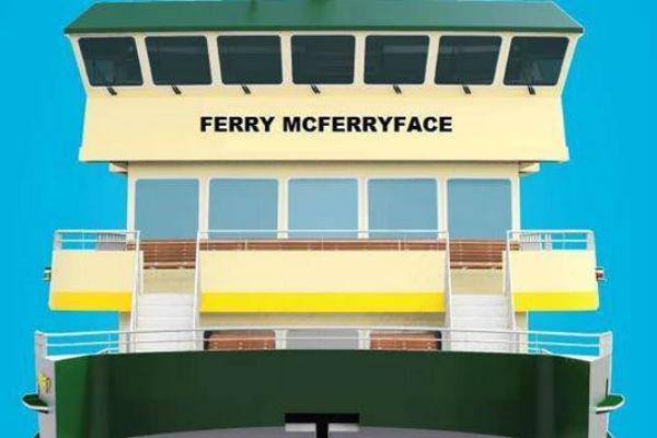 Maritime staff furious over 'Ferry McFerryface'