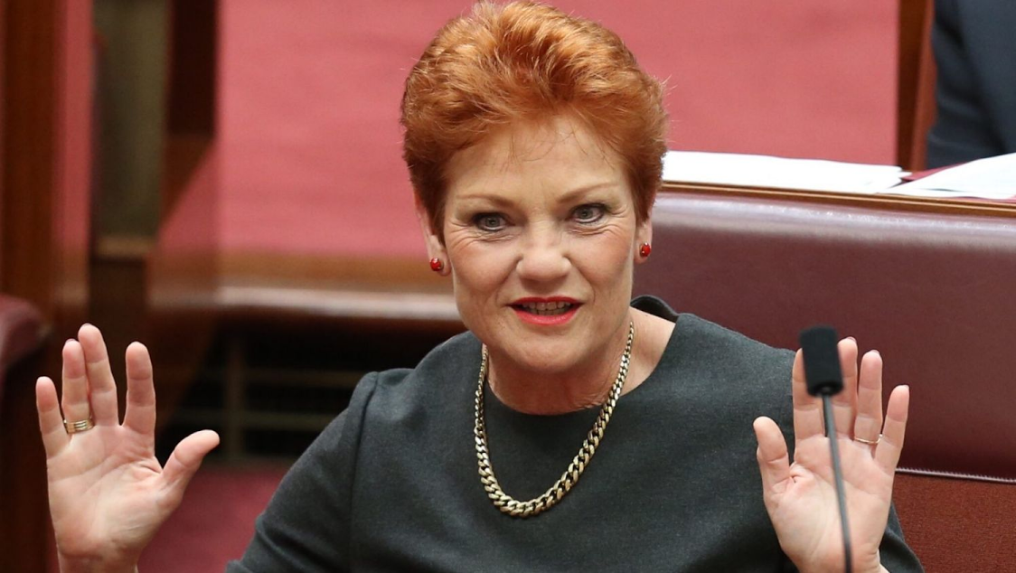 Pauline Hanson Back In Aus