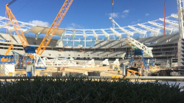 Article image for New Perth Stadium pitch a work in progress, says Justin Langer