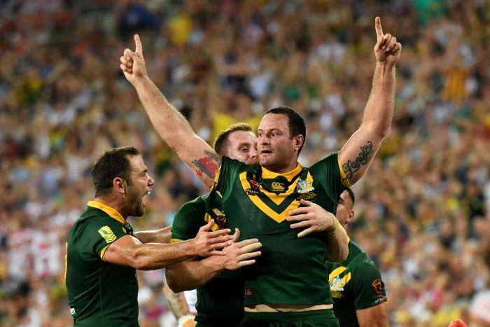 The Kangaroos are World Champions