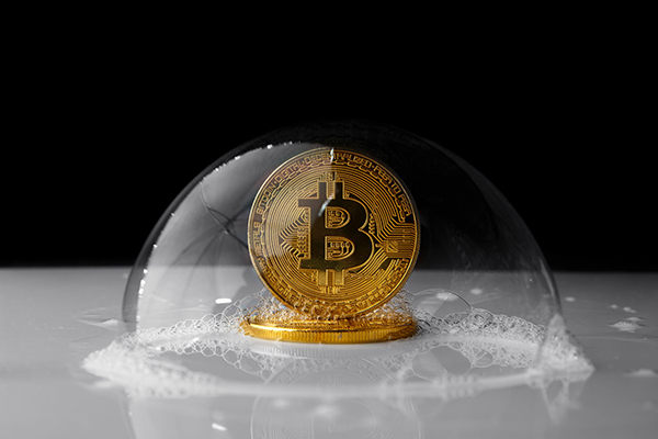 Article image for Is the Bitcoin bubble about to burst?