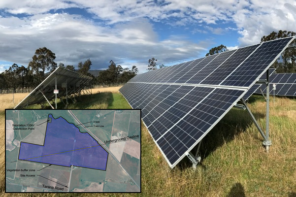 200 hectare solar farm to be built on prime agricultural land