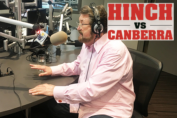 Article image for LANGUAGE WARNING: Derryn Hinch tees off on Canberra