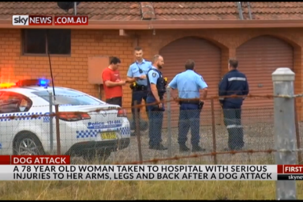 Woman horrifically mauled by pet dingoes