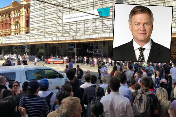 Andrew Bolt on the Flinders Street attack