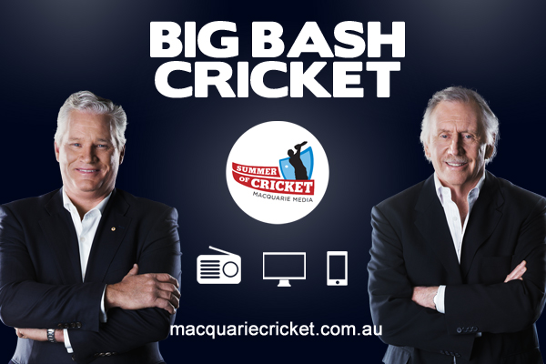 Article image for BBL LIVE – Hobart Hurricanes vs Melbourne Renegades   All the action from Blundstone Arena