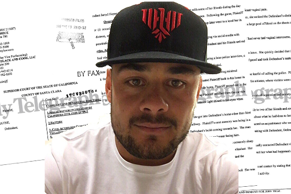 Article image for Jarryd Hayne accused of rape while playing NFL