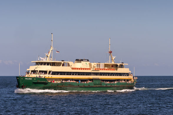 Get hitched on Sydney's iconic Manly Ferry