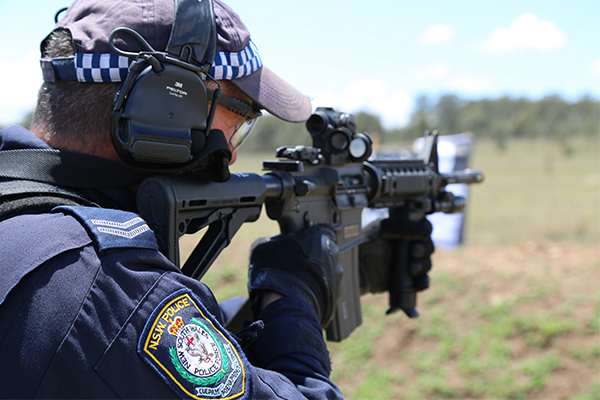 Article image for Police now armed with semi-automatic rifles to combat terrorism