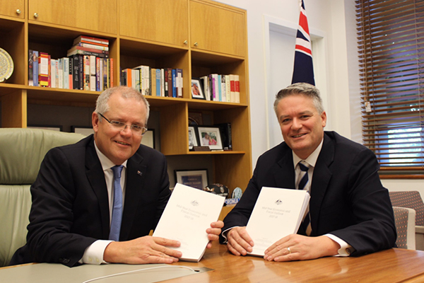 Ross Greenwood grills Treasurer Scott Morrison on MYEFO