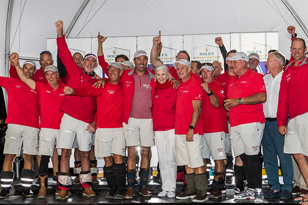 Article image for Sydney to Hobart winner caught up in high drama