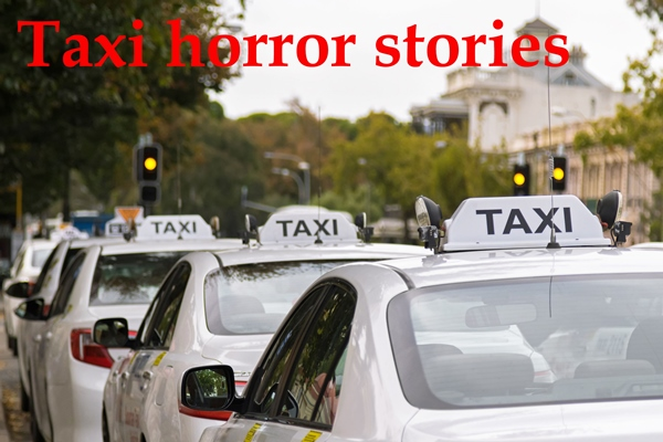 Article image for Taxi horror stories
