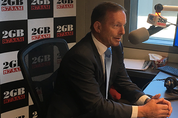 Tony Abbott condemns Senator Fraser Anning's 'lunatic' comments