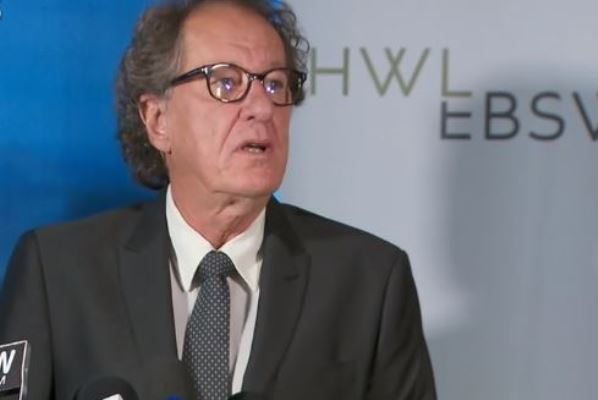 Geoffrey Rush suing for defamation