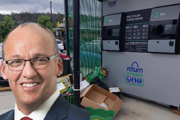 NSW Opposition Leader slams 'Return and Earn' debacle