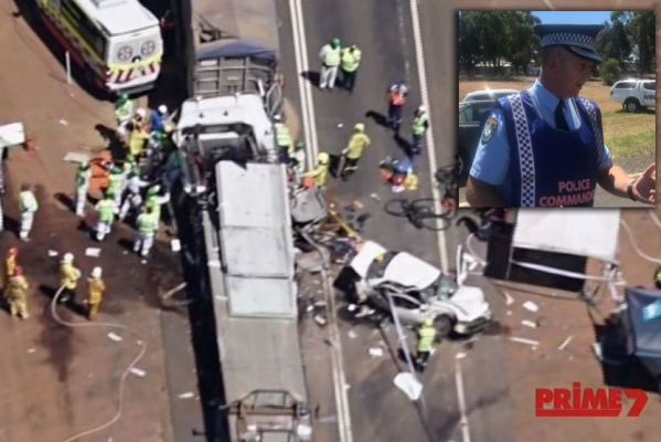 First responder describes Dubbo crash as 'a war zone'