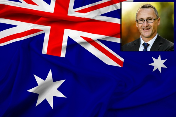 Greens leader demands Australia Day change