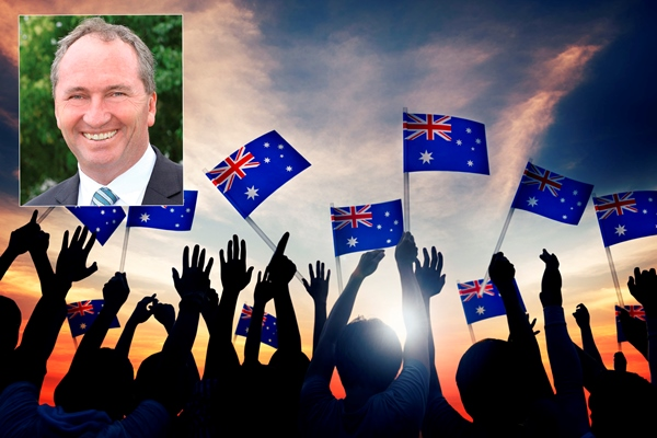 Article image for Barnaby Joyce slams The Greens: 'They can sit in the corner and suck their thumbs'